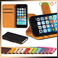 """for iPhone 6 Wallet Case, Stand Leather Cover Wallet Case for iPhone 6 4.7"""", 200pcs/lot 50pcs per color 14 colors Free Ship"""