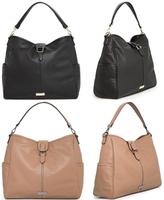 AC173 Modern Fashion classic solid PU Bucket bag  Handbag Purse Black Brown