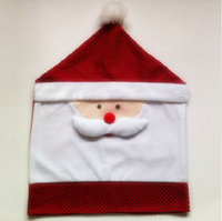 Free shipping christmas decoration chair covers chair covers christmas gift santa claus decoration props