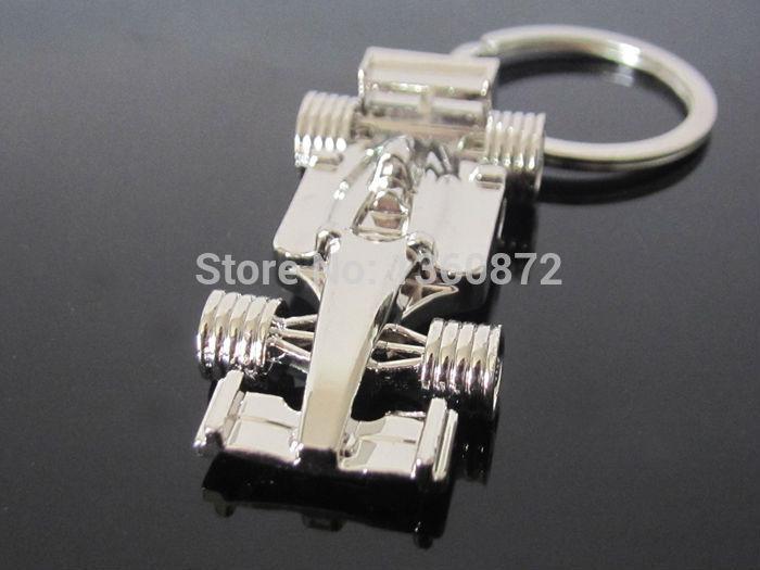 One PC F1 Racing cars model Key chain Racing keychain Formula 1 vehicle keyring car model key ring key rings key ring FC054(China (Mainland))