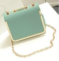HOT!!!2014 women's candy color handbag vintage fashion one shoulder small bag PU Leather bags women messenger bag