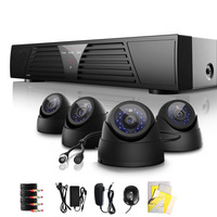 4 Channel HDMI CCTV DVR Motion Detection Home Video Recording Security System Camera