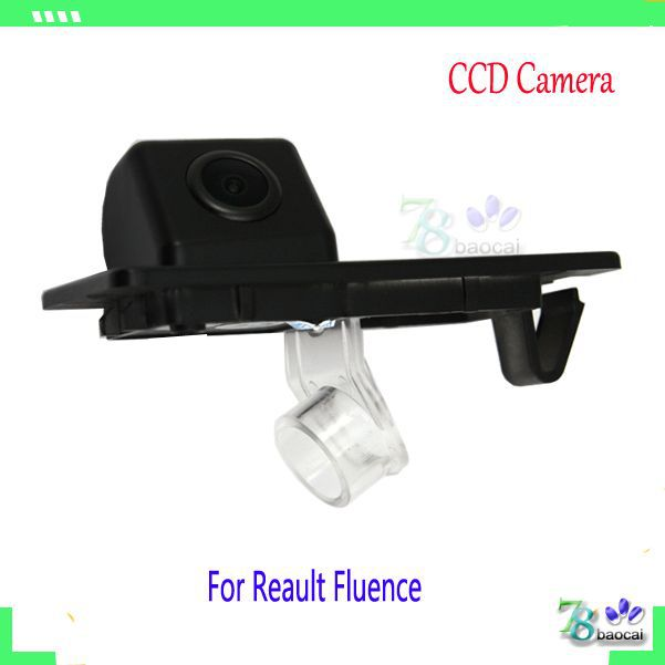 Car Parking CCD camera for Renault fluence reverse parking camera rear view back up camera with wireless module(can choose)(China (Mainland))