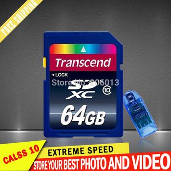 Высокоскоростные SD карты 64 ГБ class10 карты памяти 32 ГБ 16 ГБ 8 ГБ Transflash SD карты SDHC карты памяти USB устройство считывания бесплатная доставка