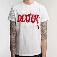 2014 New Fashion Summer Hot Selling Cotton Multicolors Fashion Male Man DEXTER T shirts