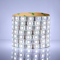 CW 6000K 12V led strip 5050 60 led/m SMD LED light strip light  flexible Waterproof IP65 Taiwan HUGA