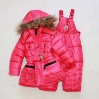 Girls Winter clothing set Brand children's sport suit set Boy Ski suit sport sets High quality windproof Down Jackets +pants