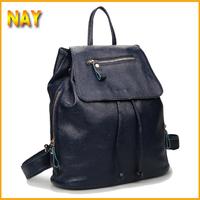 New 2015 Women Backpacks Designer Brand Printing Backpack Hiking Backpacks Women's Cow Leather Black Desigual Bag