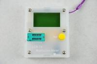 New Arrival 12864 LCD Pocketable Transistor Tester Capacitance ESR Diode Triode MOS Meter
