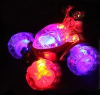 Electric stunt car remote control car wingover dump-car boy toy car LED LIGHTS 85816