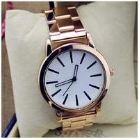 Fashion Lady Dress Watches Luxury Pendant Wristwatches Women Quartz Relogio wristwatches Sports Rose Gold Silicone watches