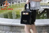 FREE SHIPPING 2014 Ted shopping bag women handbags shoulder jelly bag vintage designer with famous brand full original logo