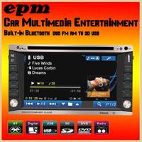 Car DVD Player 2 Din Car audio radio two Din 6.2 Inch Touch Screen Universal Car Multimedia DVD CD MP3 Bluetooth FM Radio Video