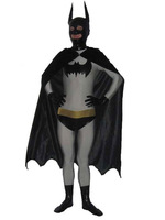 Batman Superhero Zentai Suit Full Body Suits Halloween Lycra Costumes Spandex Unitard  Cosplay Catsuit