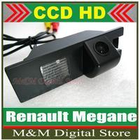 HD CCD Car Rear View Camera  Reverse Parking Camera back up Camera for  Renault Megane night vision waterproof High resolution