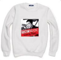 Austin Mahone Letters Print Sweatshirt For Men Women Casual Hoody Pullover Spring Autumn Moleton Feminino S-XXL ZY123-62