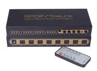SPDIF/TosLink Dogital Optical Audio 4x4 Matrix