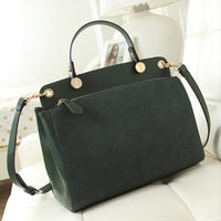 NEW Women handbag leather shoulder bags women messenge Nubuck Leather Lady messenger bags Totes bolsas femininas couro PL366#68