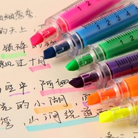 Stationery primary school students in the prize candy color needle neon pen style 1set/6colors