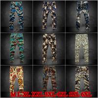 10 Colors 2014 Autumn Winter New Men's Leisure Flower Men Pants Plus Size Male Trousers Floral Loose Joggers Harem pants AHZ849