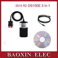2014 02 R2 Newest version CDP Pro plus Delph1 DS150E + keygen For Autocom obd2 Cars / Trucks diagnostic tool toos