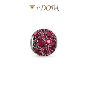 Wholesale karma beads diy jewelry with big Rhinestone outside fashion design TZ 109/110/111()