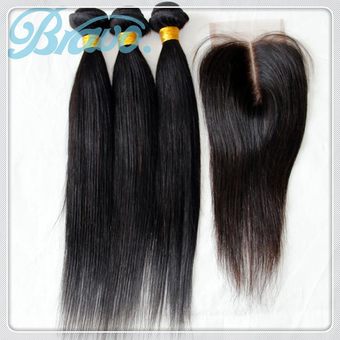 Straight Brazilian Hair Bundle Deals 108