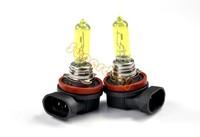 Amber / Yellow 2pcs/Lot H9 65w Car Fog Lamp Automobile Light Bulbs Wedge High Power Car Light Bulbs SV19 4192