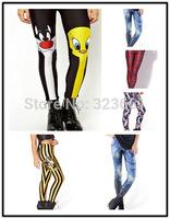 New Women Leggings punk Casual legging Pants Adventure time Digital printing cartoon designfitness Atacado Roupas