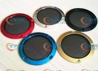 10pcs Multi Colors 3inch Speaker Grill Covers Speaker net Plastic Speaker Parts Wholesale Speaker Component for arcade cabinet