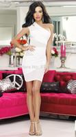 Summer 2014 new elegant dress slash neck dresses women casual dress drop shipping