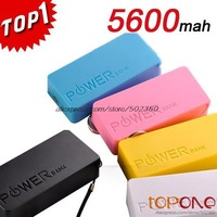Perfume Power Bank 5600mah Portable Battery Charger Powerbank For SAMSUNG IPHONE 4s 5 5C Nokia With USB Cable Free Shipping