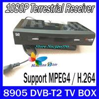 8905 DVB-T2 Terrestrial HD Digital HDIMI USB TV Receiver DVB T Tuner DVBT2 SET TOP BOX STB For Europe Russia Singapore Malaysia