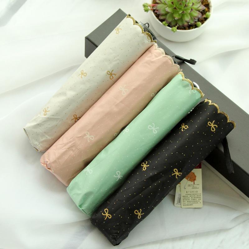 2014 Hot sale Ramona bow vinyl lace parasol umbrella UV sun shade umbrellas wholesale lace(China (Mainland))