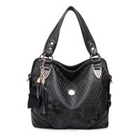 Women rose pattern bags pu leather bags shoulder totes bags Tassel Lady messenger bags Totes bolsas femininas couro PL373#70