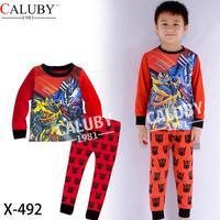 2014 autumn / winter Christmas Frozen 2-7T BABY kids Clothing 2 piece suit Pyjamas Pleasant Milk Silk Cotton Homewear x-492