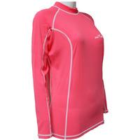 New arrival girl  high quality women long sleeve nylon rash guard red Sports free shipping