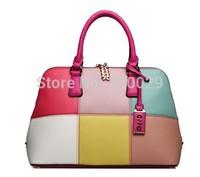 Fashion desigual bags handbags women famous brands contrast color women messenger bags women clutch shoulder office bag