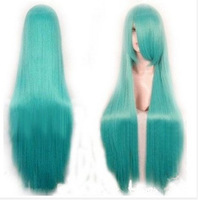 2014 New Arrival Tops Fashion girl 3 colors women's /Lady Hatsune Miku Cosplay wig long wigs cosplay wigs synthetic hair cap