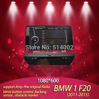 10.1 inch car dvd gps1 Series F20 2011 to 2014