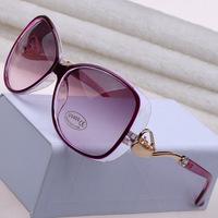 2014 Big metallic block a small horse vehicle Style Women  Summer Sun Glasses  Vintage Outdoor Goggles Eyeglasses Wholesale