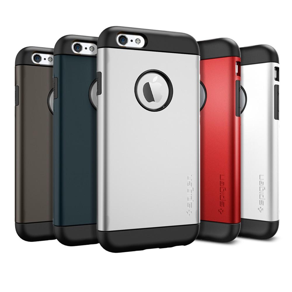 Gold-TPU-PC-Slim-Armor-Case-for-iphone-6-i6-Hard-Phone-Back-1-1-SPIGEN