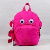 4 colors Monkey eyes folding light nylon backpacks for girls school bags for boys school backpack original KP010-3