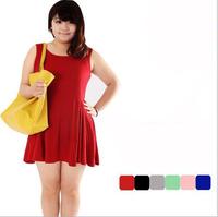 Dress Dress XL loose large size women fat mm summer bust 140 large size women Q1002