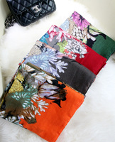 Winter cotton twill scarf lengthen grant to spend thicker cotton scarf style scarf C104 National wind