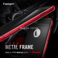 Genuine Neo Hybrid Metal Case for iPhone 6, Spigen Premium Dia-Cut Edge Aluminum Frame Neo Hybrid Case for Apple iPhone 6 (4.7)