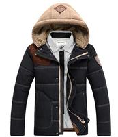 2014 New Men'S Winter Down Jacket Coat Thick Warm Fashion Brand Outdoor Battlefield Minus 20 Degrees XXXL Men Casual Down Jacket