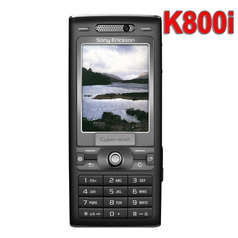 Refurbished Original Sony Ericsson K800i Mobile Phone Unlocked K800 Cellphone Russian Keyboard(China (Mainland))