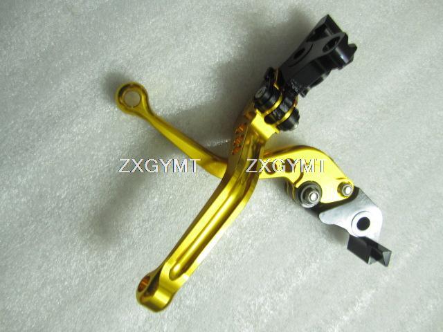 Brake Lever Atv for Yamaha Yfm 350 A 2004 14-0505 Lever Set Short / Regular 8 color for choose XH-LS410(China (Mainland))