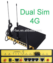 support load balancer F3C30 LTE/LTE dual sim 4G router for ATM, Kiosk
